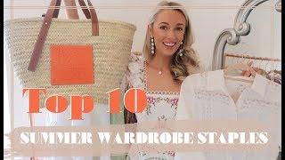 10 SUMMER CAPSULE WARDROBE ESSENTIALS // Fashion Mumblr
