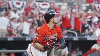 Braves NLDS Game 2 -- Adam Duvall HR Reaction