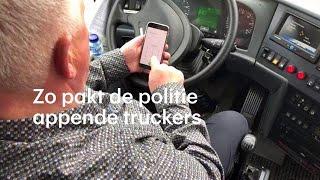 Met deze slimme truc pakt de politie appende truck - RTL NIEUWS