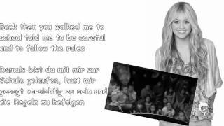 Hannah Montana - Been here all along  W/Lyrics
