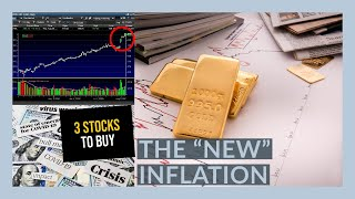 `THE STOCK MARKET IS GOING UP BECAUSE INFLATION!! - My Watchlist - 3 STOCKS TO BUY NOW!!