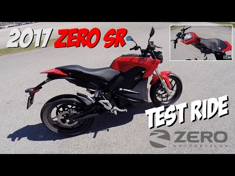 Zero SR electric bike test ride and review