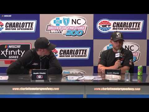 Justin Allgaier: 'I'm going to be back in the No. 7 car'