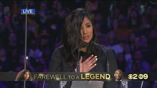 Vanessa Bryant Speaks At Celebration of Life for Kobe and Gianna Bryant