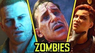 BLACK OPS 4 ZOMBIES: THE MOVIE - ALL EASTER EGG CUTSCENES, INTROS AND FULL STORYLINE (Part 1)