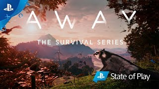 AWAY: The Survival Series   Announce Trailer   PS4