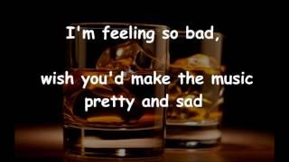 One For My Baby  FRANK SINATRA (with lyrics)