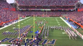 Florida Gators pre-game and entrance
