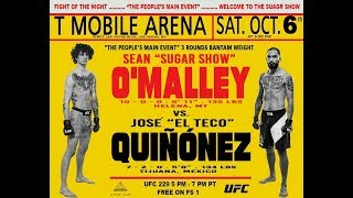 UFC 229: Шон О`Мэлли против Хосе Киньонеса