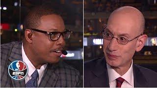 Paul Pierce pitches his dunk contest idea to Adam Silver | NBA Countdown