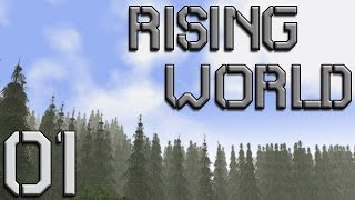 Rising World Gameplay - Getting Started - Let