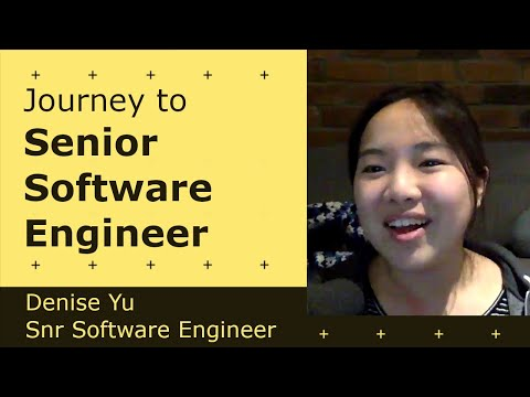 Cover Image for Getting to Senior Software Engineer - Denise Yu | Senior @ Github