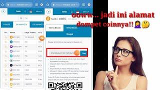 Alamat Wallet Bitcoin Indodax