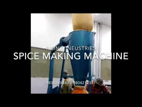 Spice Processing Machine for Food Industry