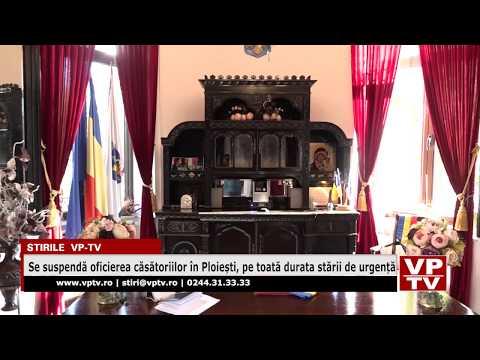 Se suspendă oficierea căsătoriilor în Ploiești, pe toată durata stării de urgență