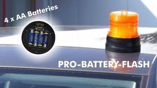 LED Kennleuchte PRO-BATTERY-FLASH