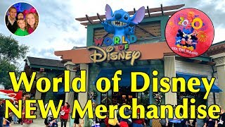NEW World Of Disney - Disney Springs - FULL Shop Tour & New 2020 Walt Disney World Merchandise
