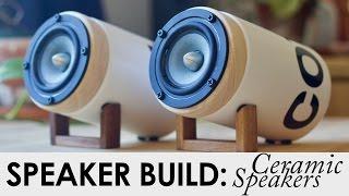 Ceramic Speakers   FREE BUILD PLANS!   DIY Speaker Build