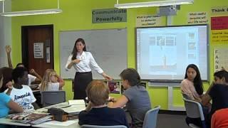 8th Grade Language Arts Lesson-Novel Study Setup