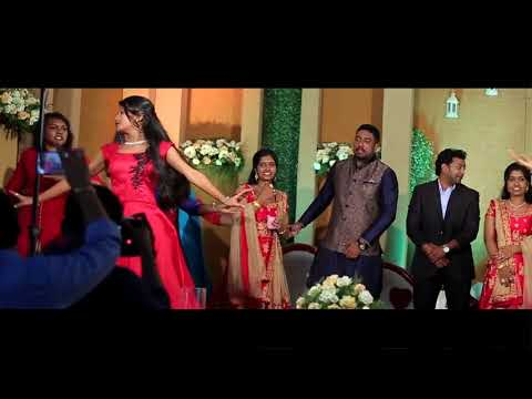 Surprise kerala dance at Twins wedding by brides sister & friends