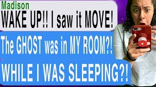 THERE WAS A GHOST IN MY BEDROOM!!! (Possessed #2 | Cliffhanger Scary Text Story)