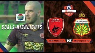 PSM Makassar  (2) Vs Bhayangkara FC (1) - Goal Highlights | Shopee Liga 1
