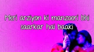 Ishq Tu Hi Hai Mera- MEIEJ- Lyrics - YouTube