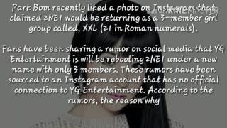 Park Bom likes photo announcing 2NE1 to comeback as 3-member group, XXI