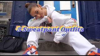 Sweatpants Outfit Ideas | A Very Comfy Look Book