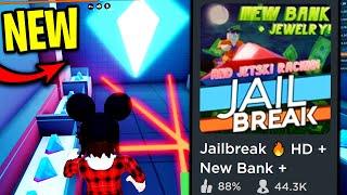 [FULL GUIDE] Jailbreak BANK VAULTS UPDATE.. (New Lighting, RACING, Jewelry Store) | Roblox Jailbreak