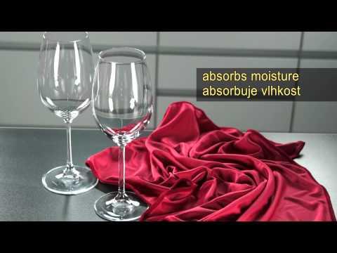 Video Tescoma UNO VINO utěrka na sklenice 2