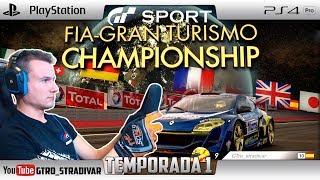 GT SPORT - FIA NATIONS CUP SEASON 1 | MEGANE TROPHY - LAGO MAGGIORE | GTro_stradivar Carrera Online