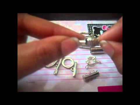 Bisutería materiales (parte 2)  broches o cierres