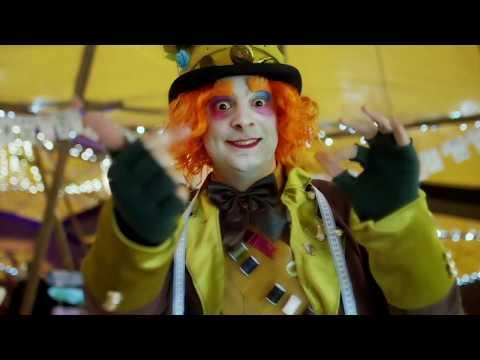Alice In Wonderland Performers Video