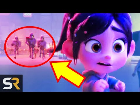 Here's Every Marvel And Star Wars Reference In Ralph Breaks The Internet