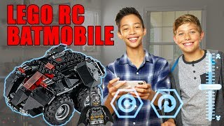 LEGO DC The App-Controlled Batmobile – The Build Zone