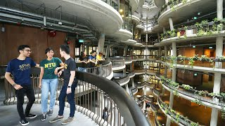 NTU Singapore year-end greetings: 360-degree VR video of The Hive