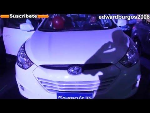 2013 hyundai tucson ix35 colombia brasil mexico Argentina video de carros auto show FULL HD