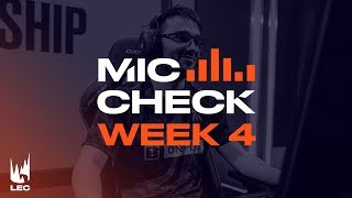LEC : le Mic Check de la semaine 4 Summer Split