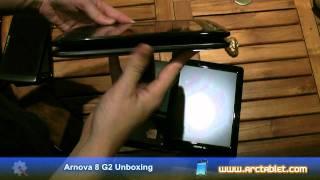 Arnova 8 G2 unboxing