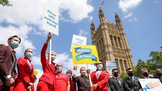 video: Travel news latest: 'Now or never' to save summer holidays as Government faces protests