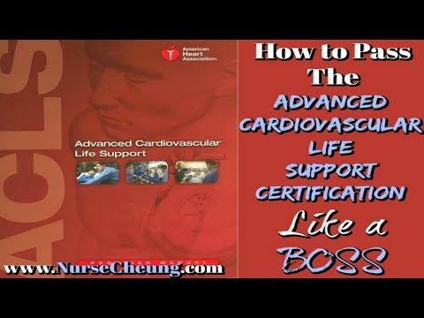 ACLS CERTIFICATION - IMPORTANT TIPS TO PASS THE ACLS ...