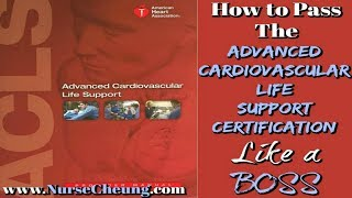 ACLS CERTIFICATION 2018 - IMPORTANT TIPS TO PASS THE ACLS CERTIFICATION LIKE A BOSS