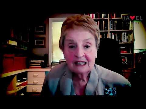 Přehrát video: Madeleine Albrightová zdraví Havel Channel