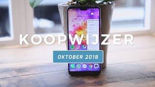 Dit zijn de beste smartphones van oktober 2018 - Telekoopwijzer video (Dutch)