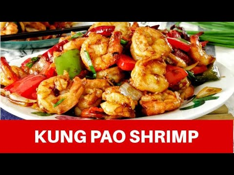 Kung Pao shrimp - How to make quick and easy spicy Chinese stir-fry