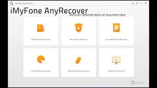 iMyFone AnyRecover Review - Best Recovery Software for any Hard Disk