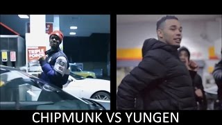Chipmunk Vs Yungen Beef 2016 All The Sends !!!