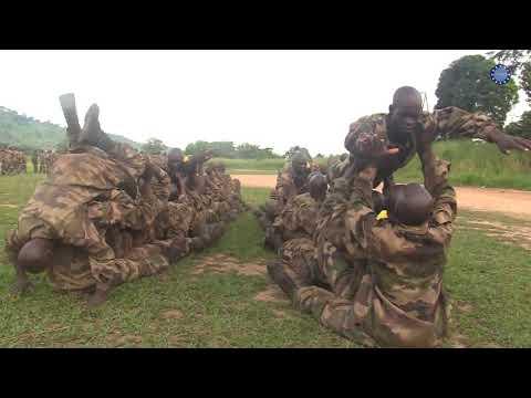 Entraînement physique militaire et sportif