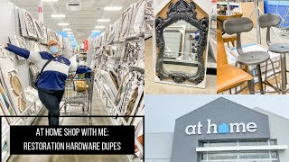 AT HOME SHOP WITH ME // RESTORATION HARDWARE DUPES